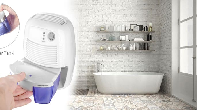 Top 5 Best Small Dehumidifier For Bathroom Reviews 2020